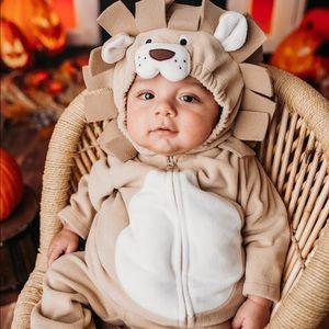 EUC Baby lion costume